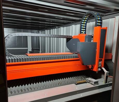 New laser cutting machine 2